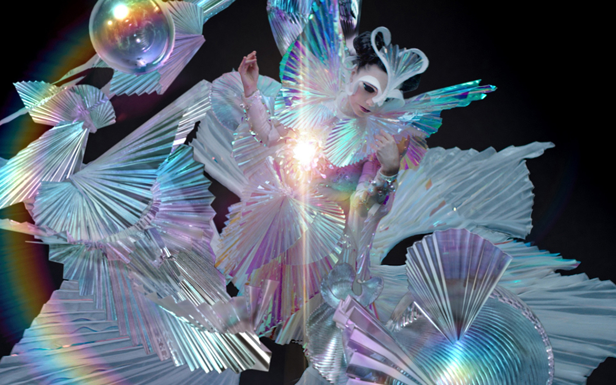 "Bjork's new song is ""The Gate."""